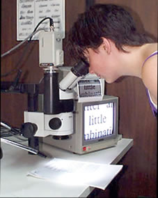 Document Examination Forensic Microscope analysis questioned documents