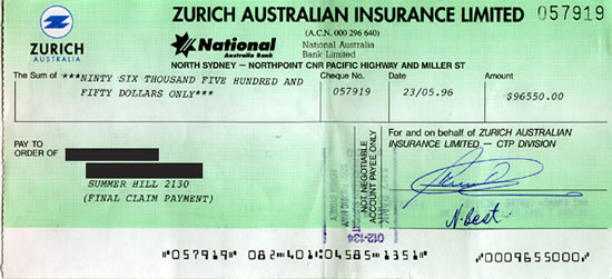 how to read cheque numbers australia